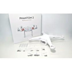 Reparación Phantom 2 DJI, calibrado configuración